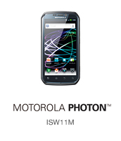 MOTOROLA PHOTON(TM) ISW11M