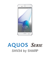 AQUOS SERIE SHV34