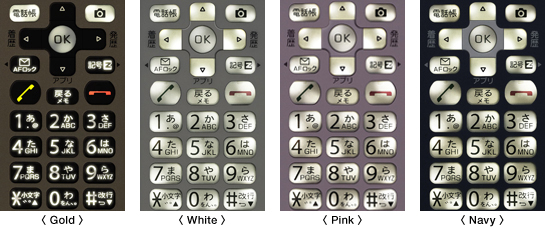 Photo: Key backlight designs
