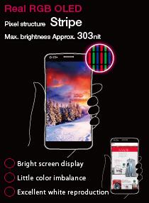 Real RGB OLED