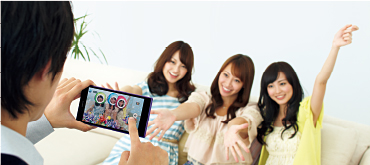 The Xperia™ Z Ultra also supports a range of apps for taking and editing images