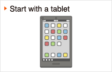 Start with a tablet