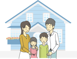 『auひかり ホーム』は、一戸建てにお住まいのお客さまを対象としたサービスです。