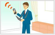 ご自宅の電波状況を調査し、改善策をご提案します。