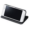 HTC J butterfly HTL23 ブックタイプケース/ブラック