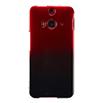HTC J butterfly HTL23 ハードカバー/レッドブラックグラデ