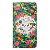 HTC J butterfly HTV31 ブックタイプケース/Disney pass TropicalFlower