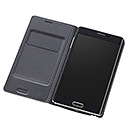 GALAXY Note Edge Flip Wallet/charcoal