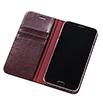 Galaxy A8 ブックタイプケース/ワインレッド
