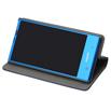 AQUOS SERIE mini SHV31 ブックタイプケース/ネイビ
