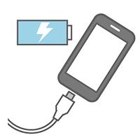 海外での充電器無料貸出サービスアイコン