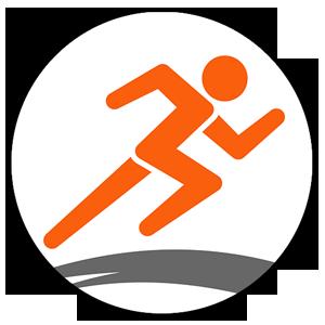 au Smart Sports Run&Walkロゴ