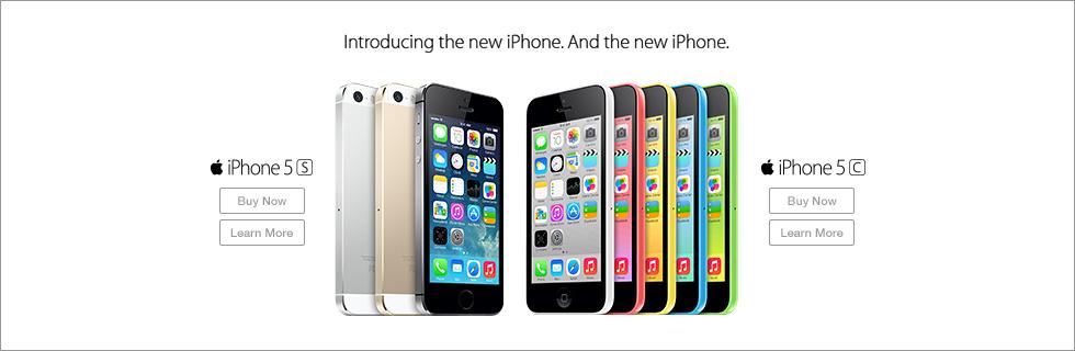 iPhone5s iPhone5c