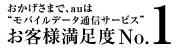 JDPモバイルデータ通信調査1位